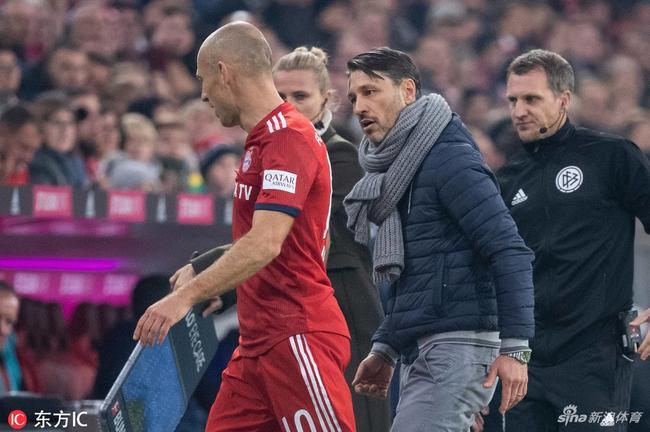 罗本:拜仁现在没资格考虑德甲冠军