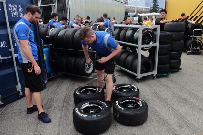 优科豪马轮胎为F3赛事挑供ADVAN系列高性能轮胎