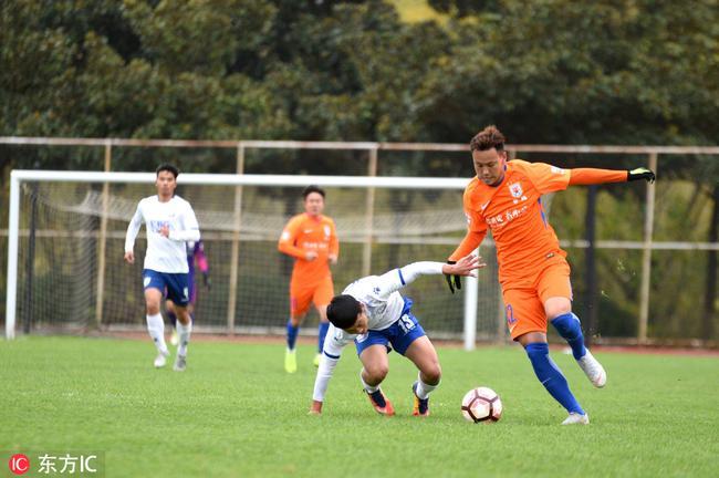 U23联赛第5轮-恒大1-0新疆斩连胜 鲁能大胜仍领跑