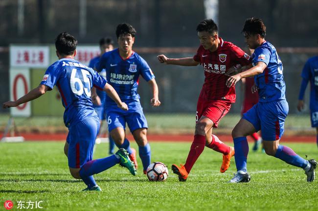 申花派6位U19越级参加U23联赛 众小将盼随一队冬训