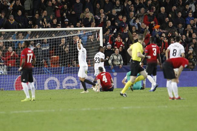 曼联1-2客负瓦伦西亚