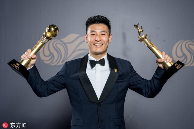 武磊成为中超MVP与最佳射手