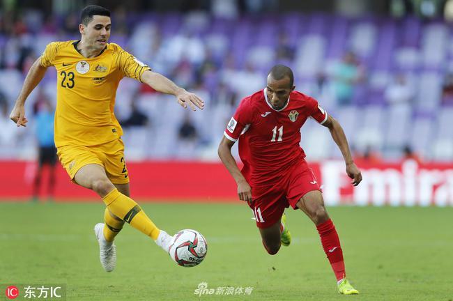 逆袭袋鼠的约旦队曾与国足热身