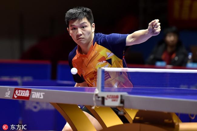 亚洲杯:乒超男团樊振东逆转直板小将 八一3