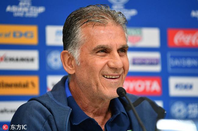 伊朗主帅:足球比赛不只看排名 不自封是夺冠热门