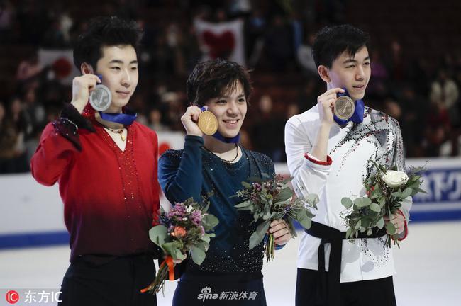 宇野昌磨和金博洋分獲四大洲賽冠亞軍