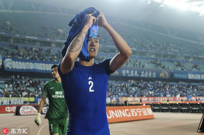 苏宁后卫:我想重回国家队 这是运动员的最高梦想