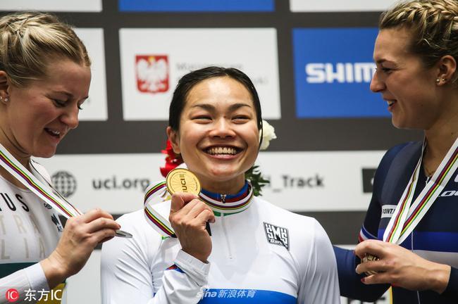 要一首兴旺!李慧诗激励中国香港女行动员创佳绩