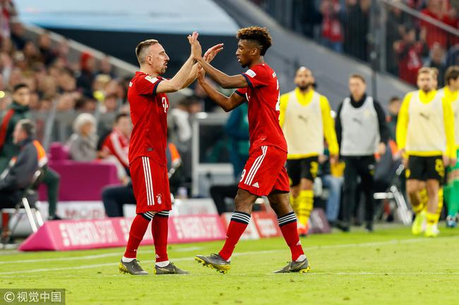 里贝里:拜仁仍需要我的力量