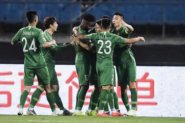 国安5连胜领跑积分榜