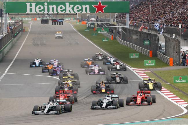 F1中国站:汉密尔顿夺F1第1000场冠军