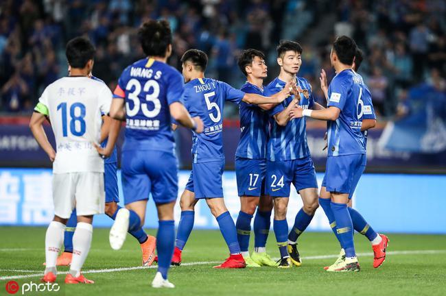 足协杯-汪嵩传射吉翔头球 苏宁4-0中乙队晋级16强