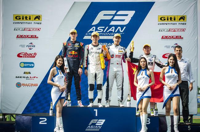2019亚洲F3锦标赛第四回相符比赛5月11日在泰国举走