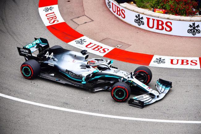 F1摩纳哥站第1次演习赛:汉密尔顿最快