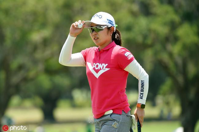 比嘉真美子领先美国女子公开赛 刘钰T7冯珊珊T68