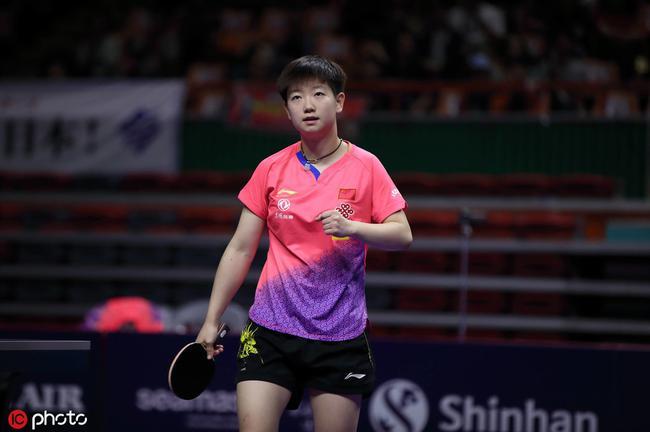 澳乒賽孫穎莎勝丁寧獲冠軍 獲巡回賽個人第三冠