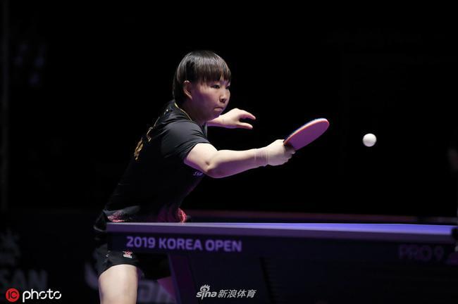 T2鉆石聯賽朱雨玲4-1石川佳純 第三局曾打出11-0