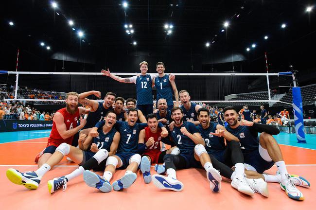 安德森18分美國男排3-1荷蘭 三連勝獲東奧入場券
