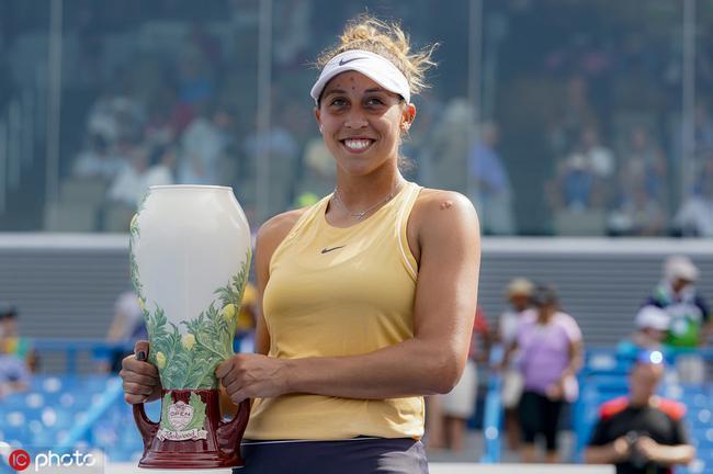 辛辛那提赛凯斯险胜库兹娃 生涯首夺超五赛冠军