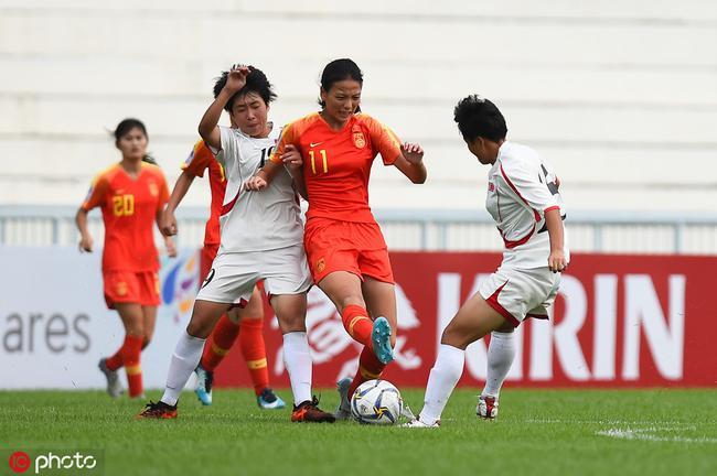 女足U16亚锦赛-中国0-4朝鲜女足 两半场各丢两球