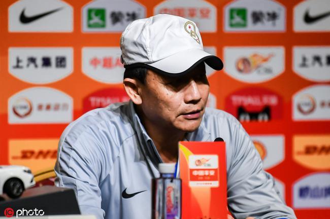 王宝山:建业在进步但与强队仍有差距 谈卡兰加伤势