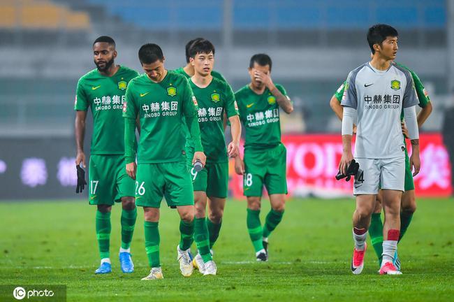 京媒:国安踢出赛季最差1场 关键时刻掉链子最扎心