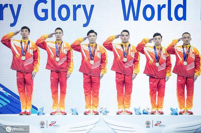 领先亚军近17分 中国队夺得军运会体操男团冠军