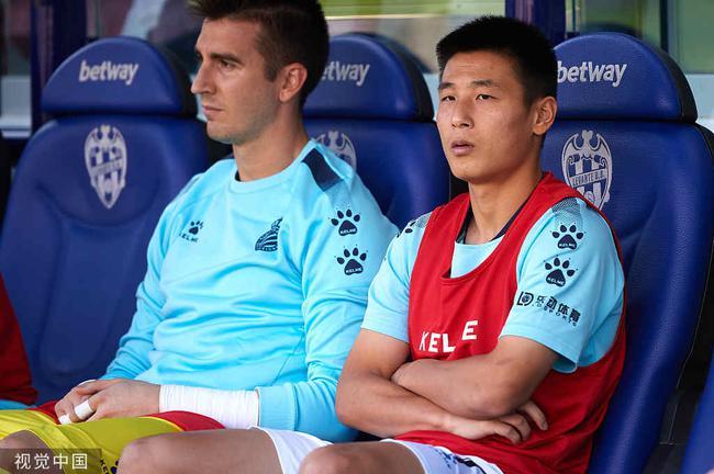 西班牙人两次西甲赢球,武磊都没出场