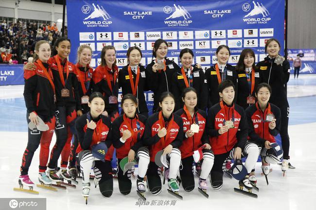 中国女子接力