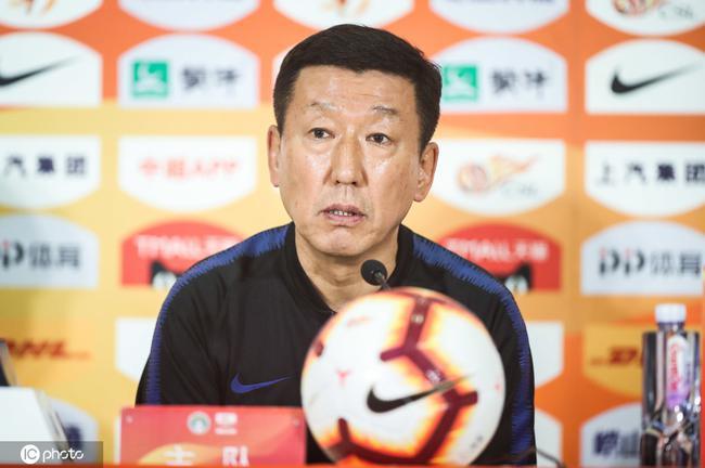 崔康熙:输球责任在教练 下轮战恒大不再让大家失望