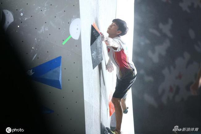 攀岩世界杯奥运资格赛 潘愚非预赛第二稳进奥运