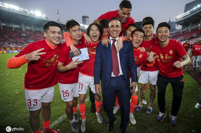 广州恒大顶级联赛第八冠