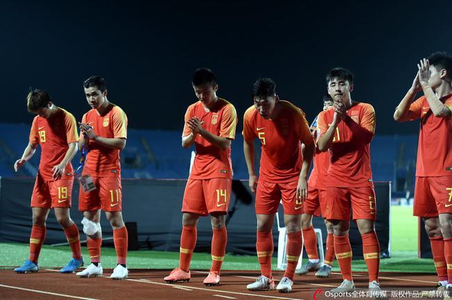 国奥球员感谢球迷支持
