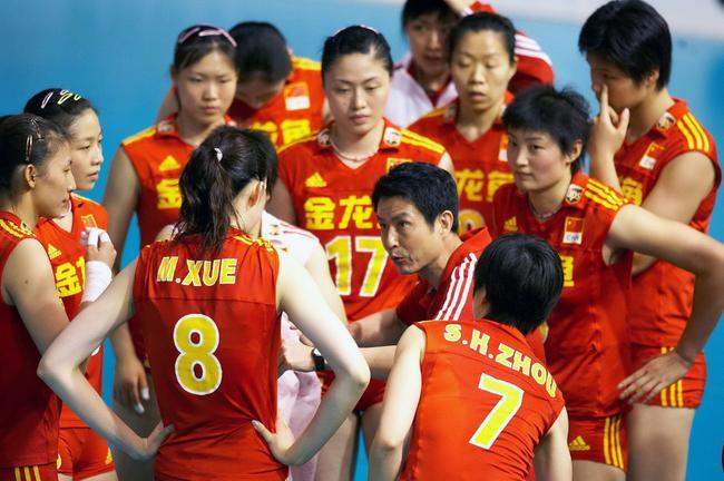 陈忠和率中国女排参加瑞士女排精英赛