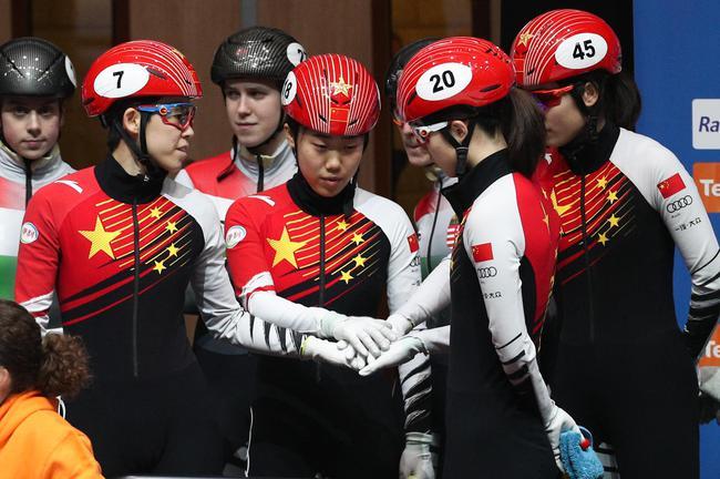 中国短道女队