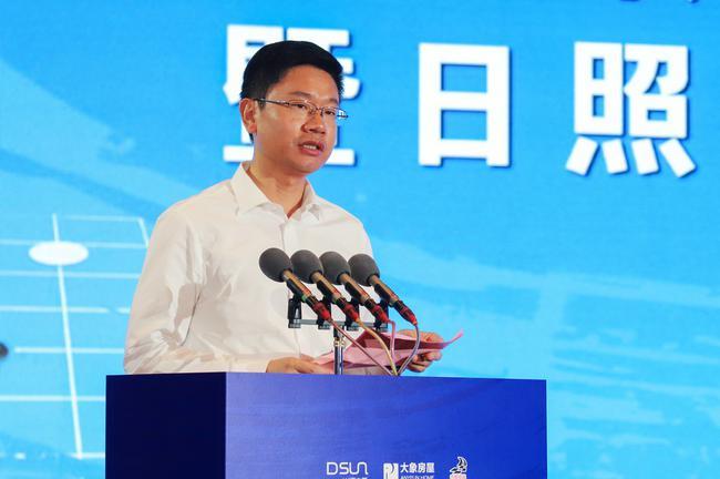 日照市委副书记李在武同志致欢迎辞