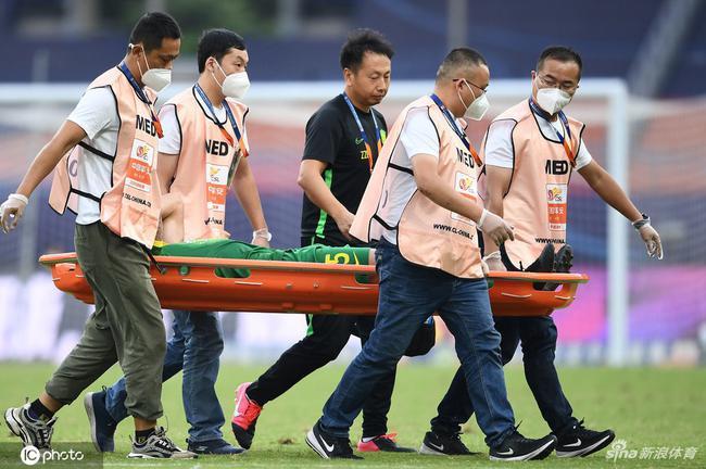 国安官方通报傲骨伤情:左侧股二头肌肌腱拉伤