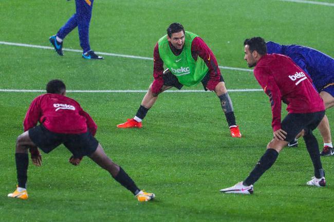 西甲-法蒂连场进球 梅西造乌龙 10人巴萨3-0客胜