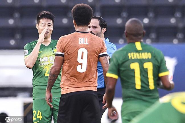 半场-杨帆与对手顶牛险惹冲突 国安暂0-0清莱联