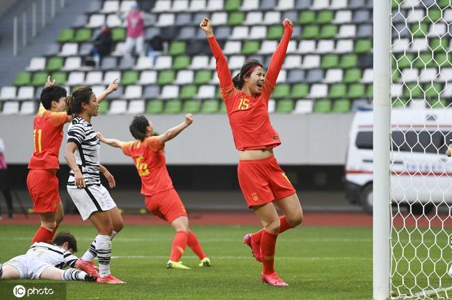 奥预赛-半场连丢2球王霜追平 中国3-3韩国进加时