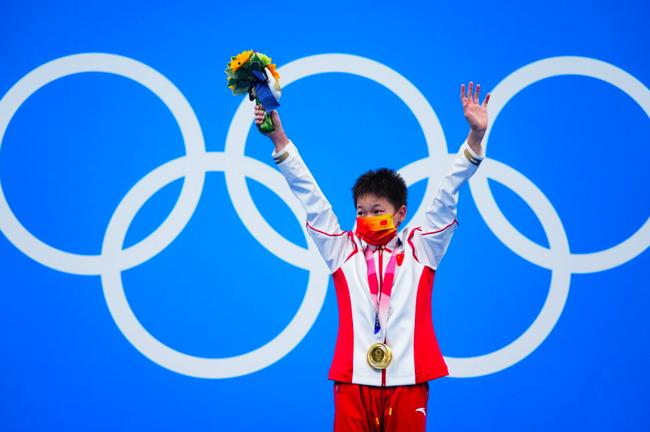 水花的精灵--奥运跳水冠军全红婵的成长故事