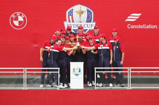 莱德杯美国队夺冠伍兹发祝贺:迫不及待想见到你们