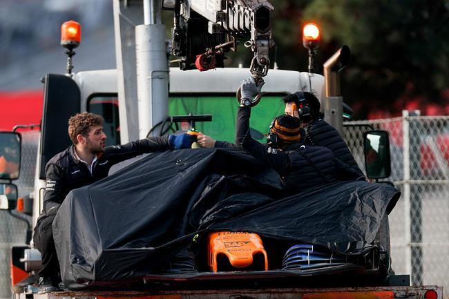迈凯轮在冬季测试中经历了混乱的两周