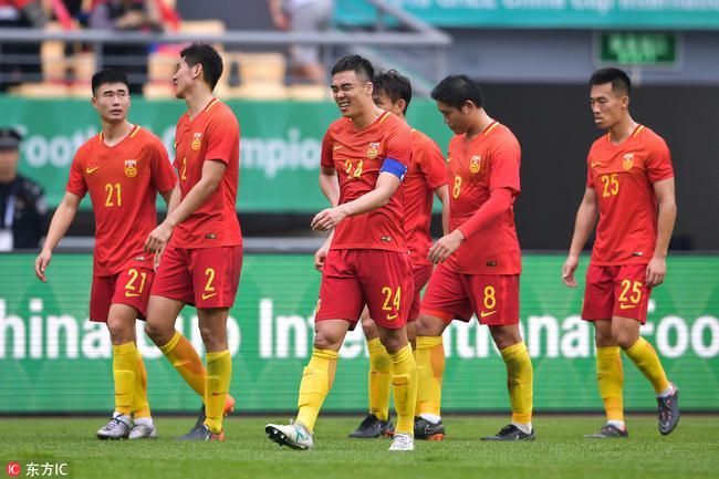央视:若没颜骏凌失球更多 中国杯让国足看到差距