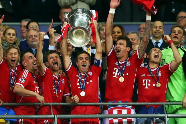 拜仁夺得欧冠已经是5年前的事情了