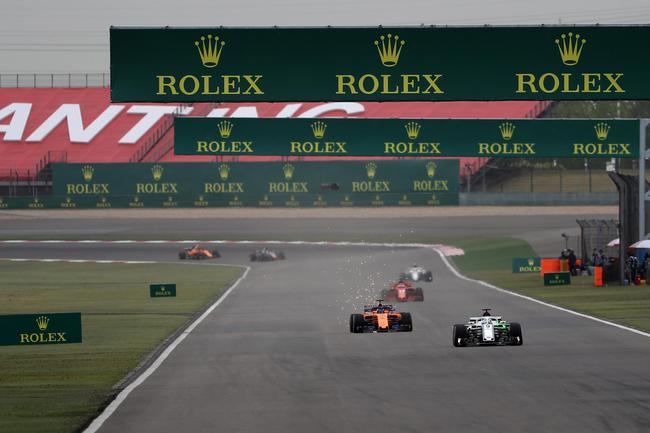 F1世界一级方程式锦标赛连续15年登陆中国上海