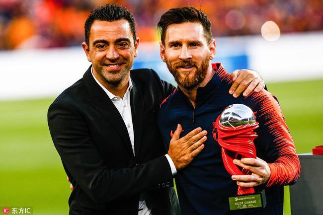 梅西获颁西甲4月最佳