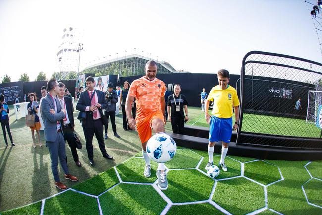 中国创造联手世界杯盛事 2世界杯传奇出席助阵