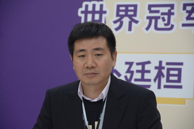 天壤智能创始人薛贵荣博士观战