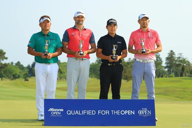 四人获得英国公开赛资格